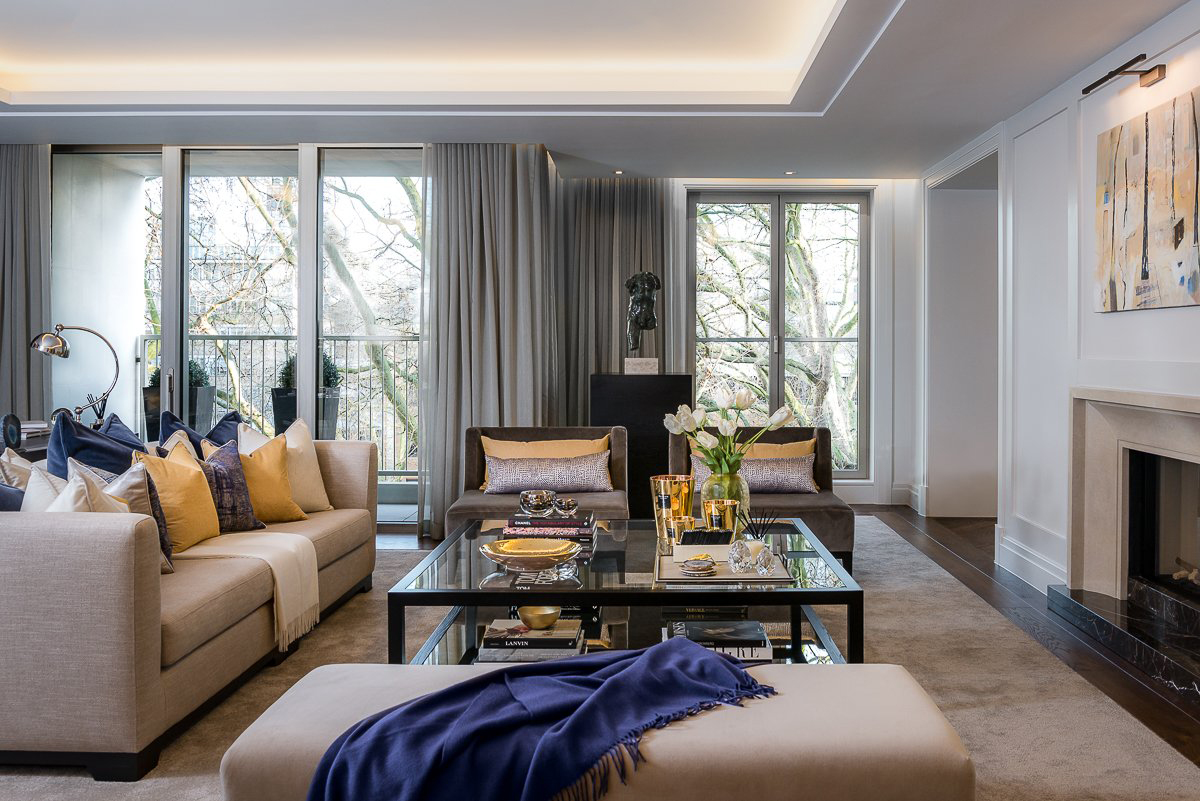 Belgravia Apartment Designed by Elicyon