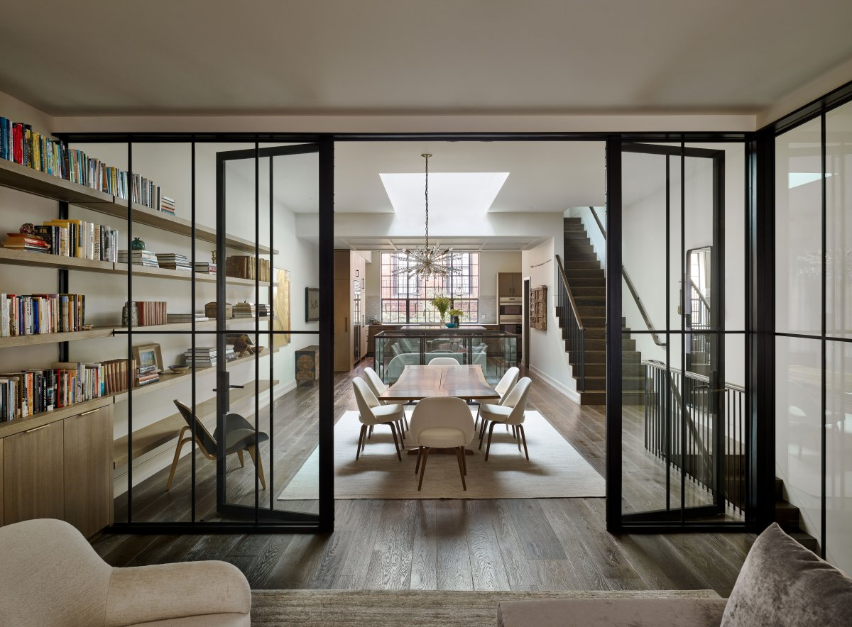 Boston Carriage House Designed by Lisa Kreiling