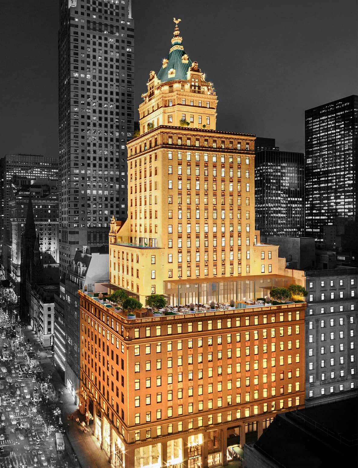 Aman New York Designed by Jean-Michel Gathy
