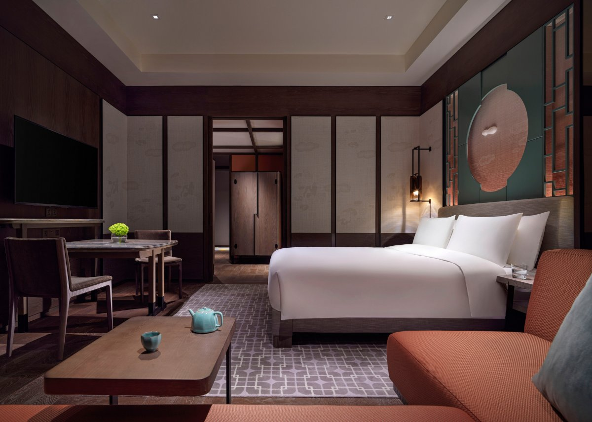 Park Hyatt Shenzhen Designed by Yabu Pushelberg