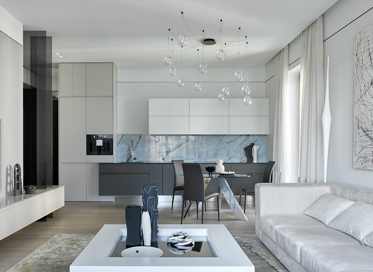 Sadiki Apartment Designed by Natalia Belugina