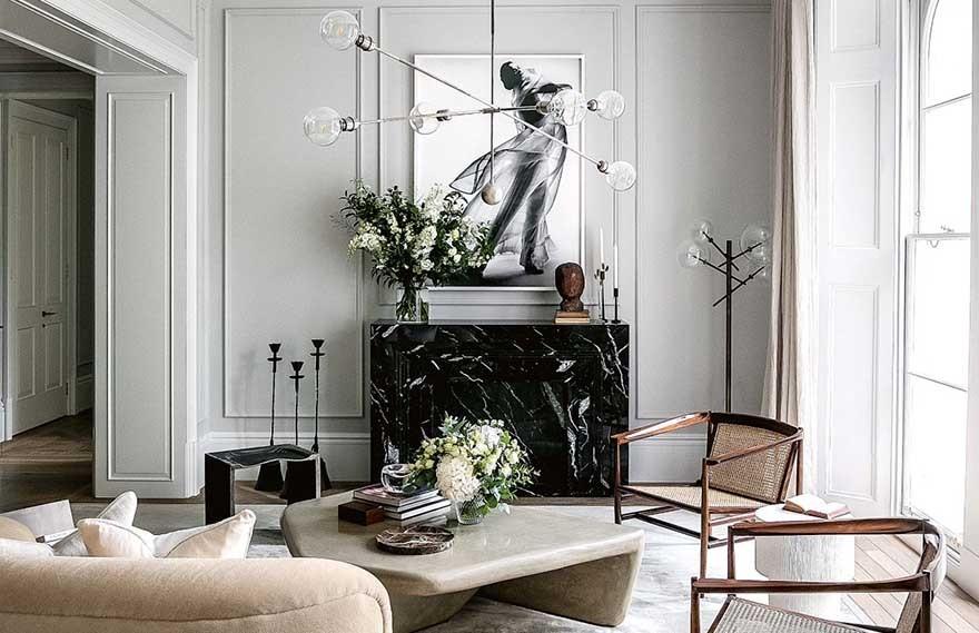Edo Mapelli Mozzi | 英国王室Beatrice公主的房子 , 现代感性美学