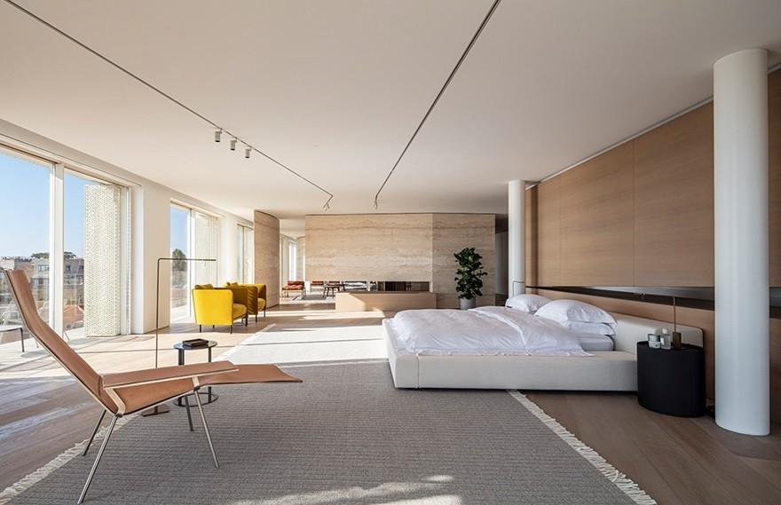 Jaffa Penthouse , 现代主义极简顶层公寓