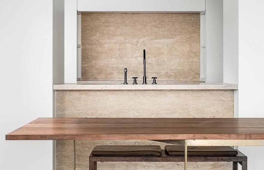 Nathalie Deboel | Apartment Knokke3 , 北欧风极简主义