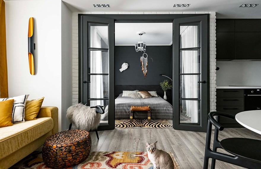 Ksenia Erlakova | Yekaterinburg Apartment , 充满理想的艺术之家