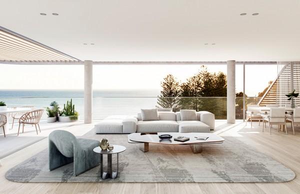 Mim Design | Norfolk , 海岸线的清新视野