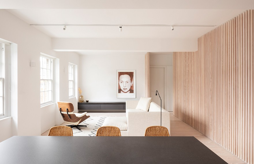 Proctor and Shaw | Marylebone Apartment , 典型木质的极简主义