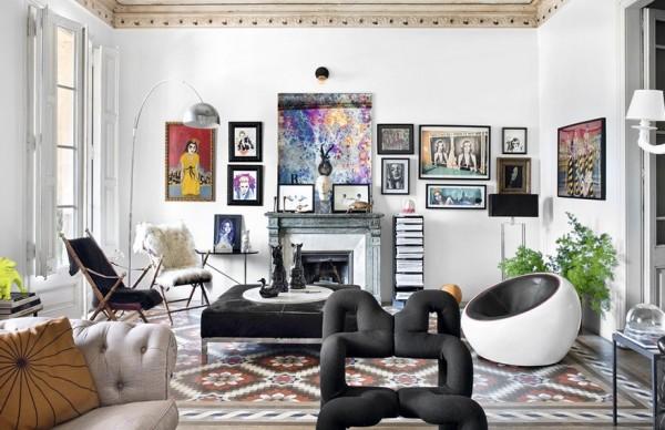 Cuban businessman | 巴塞罗那的收藏家公寓