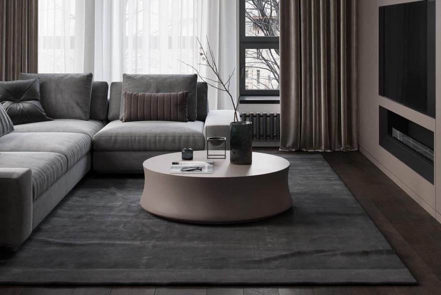 Maxim Simagin | Velvet Apartment , 简约之中诠释着一份精致