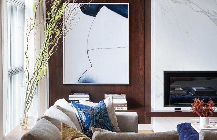 Elizabeth Bolognino | Tribeca West , 温馨舒适的家庭住宅