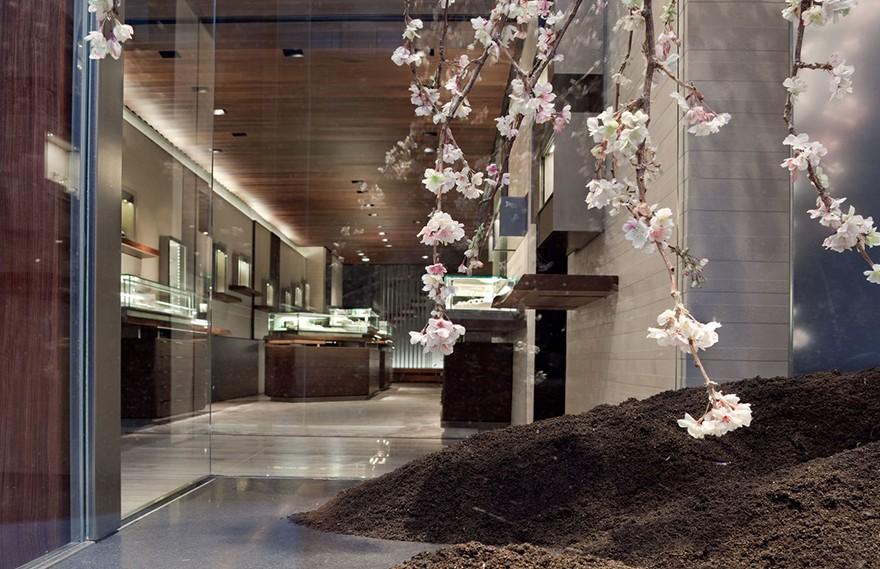 Gabellini Sheppard   David Yurman , 独特的现代旗舰店