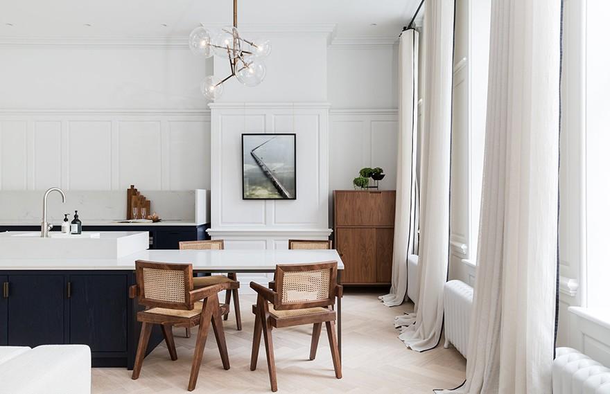 Bergman&Mar | Southampton Street , 白色轻奢公寓