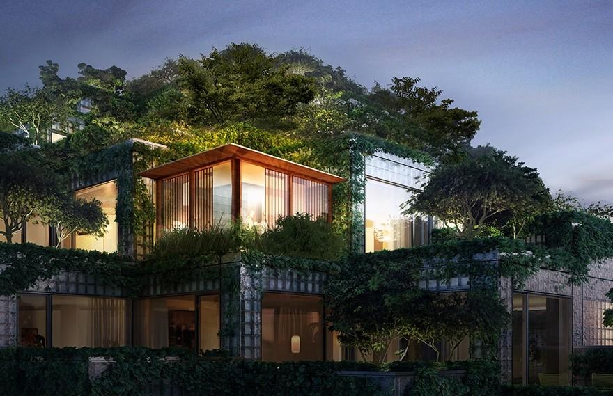 Bjarke Ingels | King Penthouses , 别致的顶层公寓