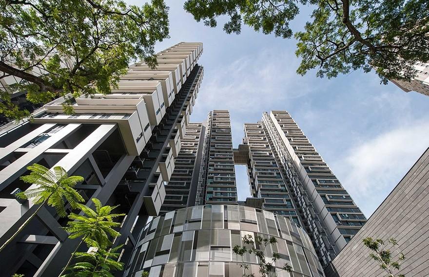 Sky Terrace , 园林住宅与自然环境的连系