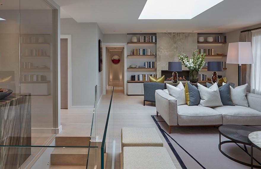 Laura Hammett | 诺丁山顶层公寓 , 伦敦的折衷风格