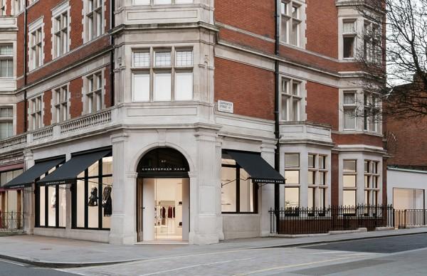 Christopher Kane Store , 爱德华时代的设计元素
