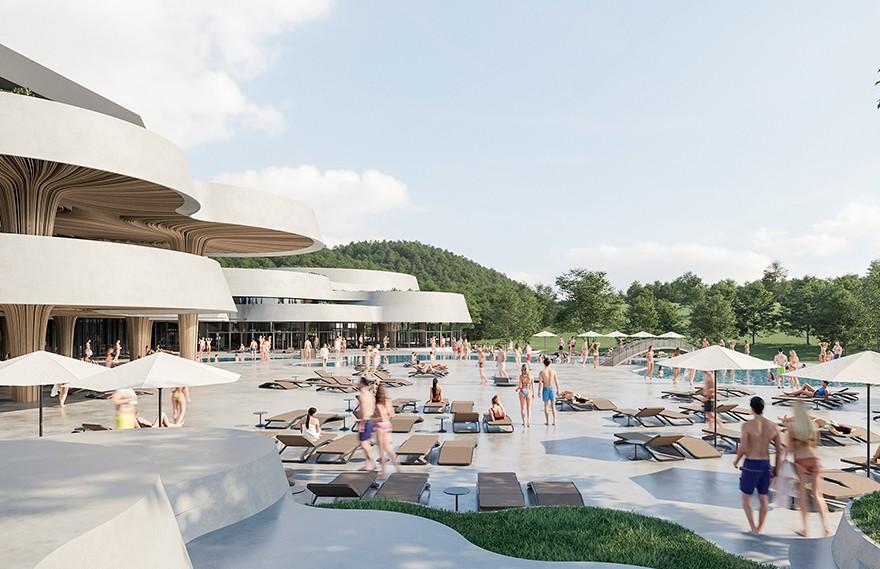 ENOTA | Banja Vrucica Spa , 当代特色的水疗酒店