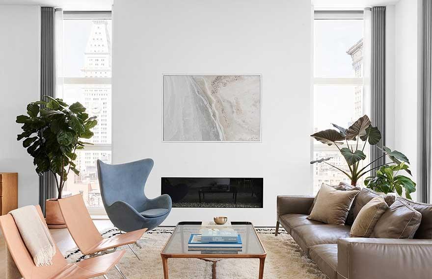Soren Rose Studio | Park Avenue Penthouse , 令人敬畏的视野