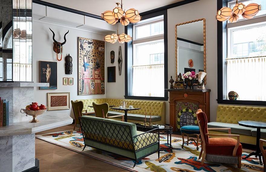 Studio Shamshiri   Maison De La Luz , 优雅华丽的法式元素
