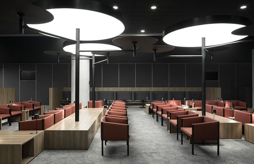 Avianca Lounges , 美学秩序和平静氛围