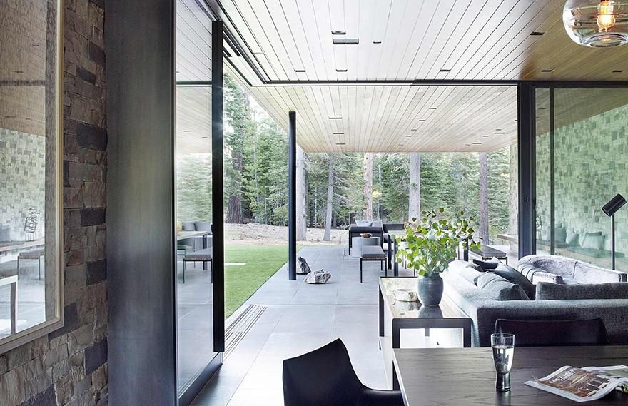 Jamie Bush | Martis Camp , 大胆的现代主义住宅
