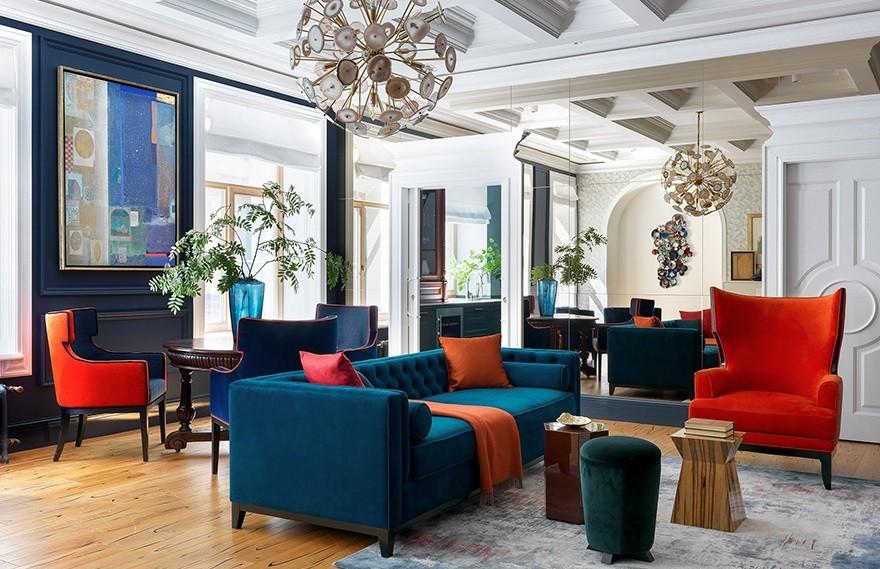 Daria Mayer | 圣彼得堡公寓 , 现代经典的灰色空间