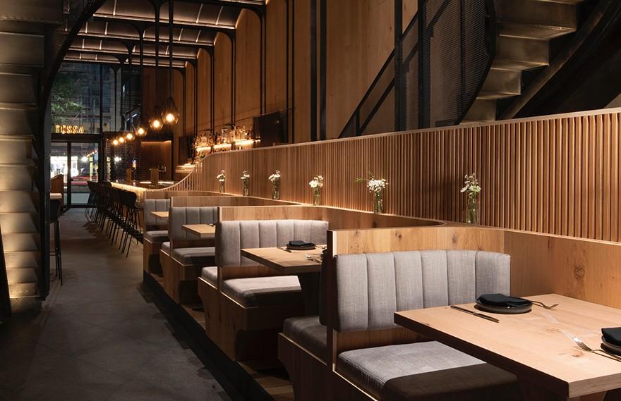Bates Masi | Asset Restaurant , 曼哈顿具有凝聚力的餐厅