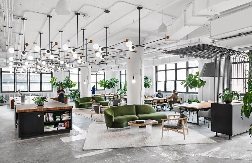 Michael Hsu | 美国汉堡公司Shake Shack纽约总部办公室