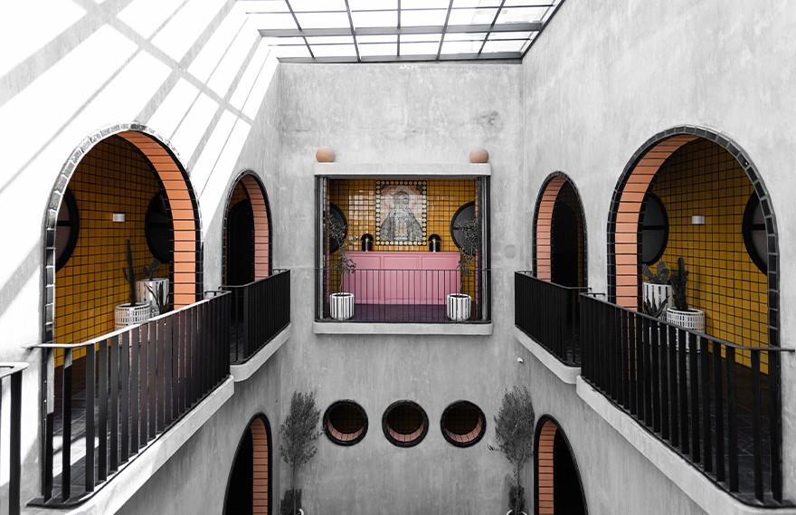 AG Studio | Casa Hoyos Hotel , 墨西哥现代主义酒店