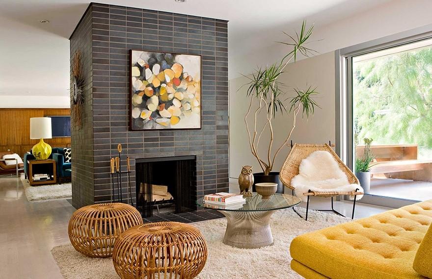 Jamie Bush | Brentwood Residence , 现代丰富多彩的家庭住宅