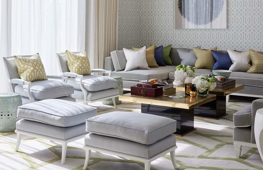 Katharine Pooley | Kuwait Villa , 现代奢华的别致空间