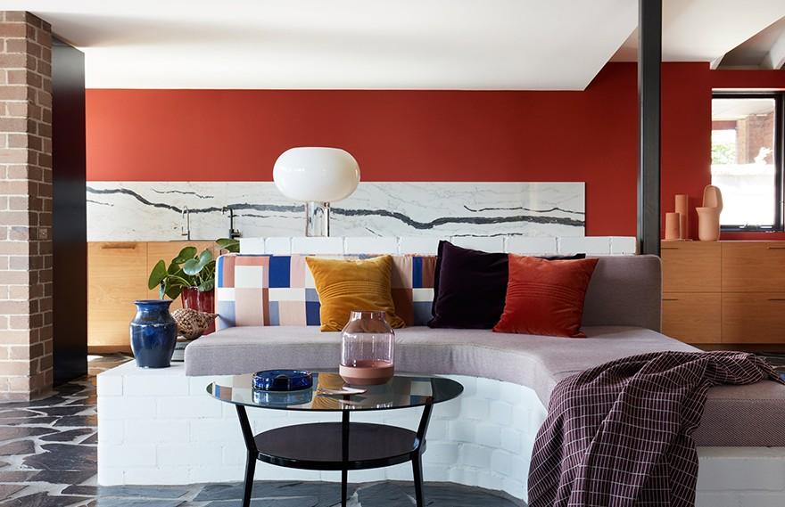 Amber Road | Polychrome House , 现代色彩丰富的艺术之家