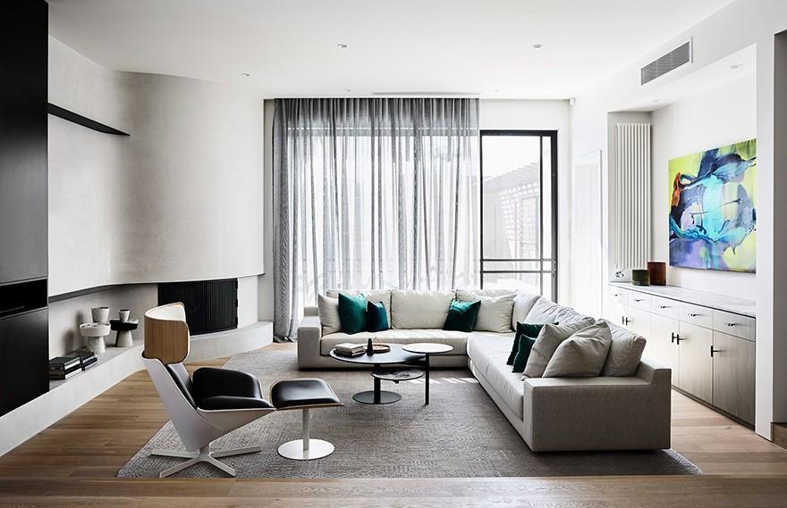 DRF Residence , 向时代的建筑风格致敬