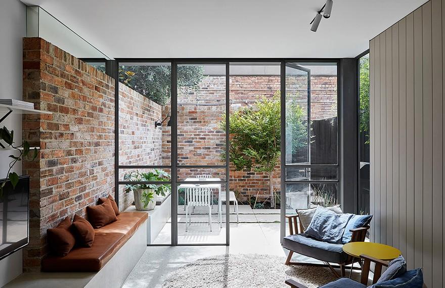 Sanders & King | Melbourne House , 宁静而大胆的现代住宅