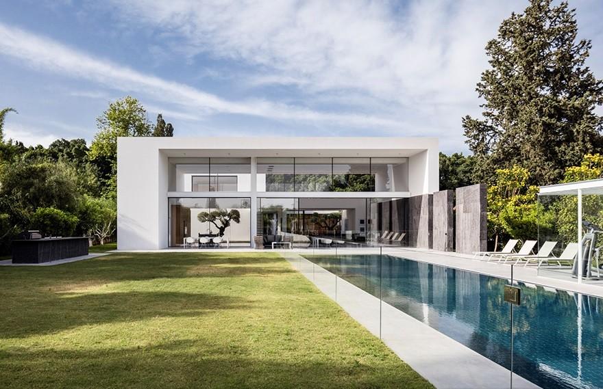 F House , 豪华庄园设计