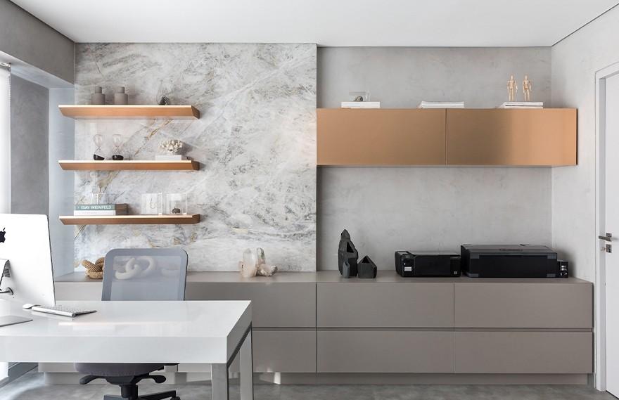 FS Arquitetura | FS Office , 现代混泥土的办公空间