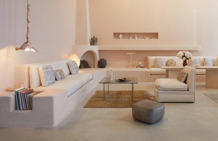 Shamshiri Studio | Pink-Hued Jewellery Shop , 优雅极简的创新细节