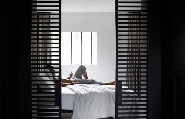 Asfs Residence , 平静的极简主义