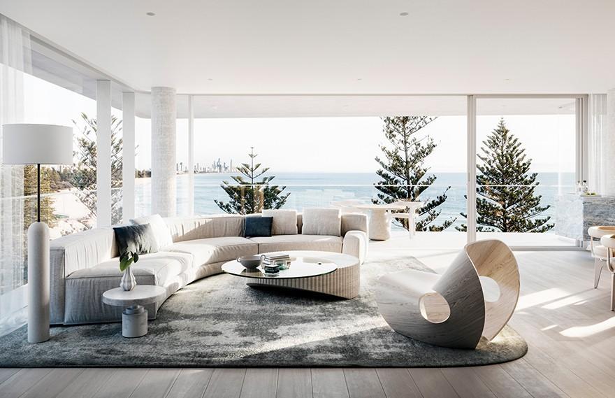 Mim Design | Luna , 现代豪华海滨住宅