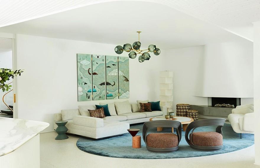 Luigi Rosselli  & Alwill   Homage to Oscar , 贴近自然的住宅