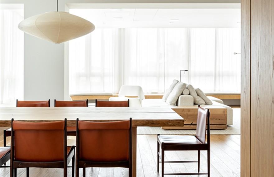 Felipe Hess | Apartamento Leblon , 现代复古的极简主义