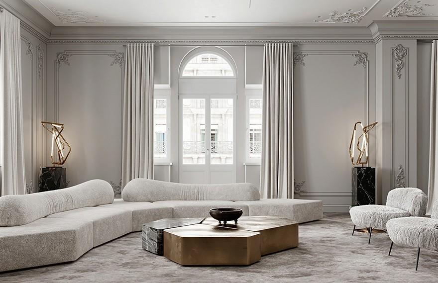 AB Architects | Gray Apartments , 优雅经典的现代美学