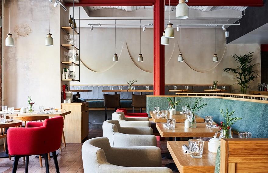 Paum Family   Italy Restaurant , 永恒的当代美学餐厅