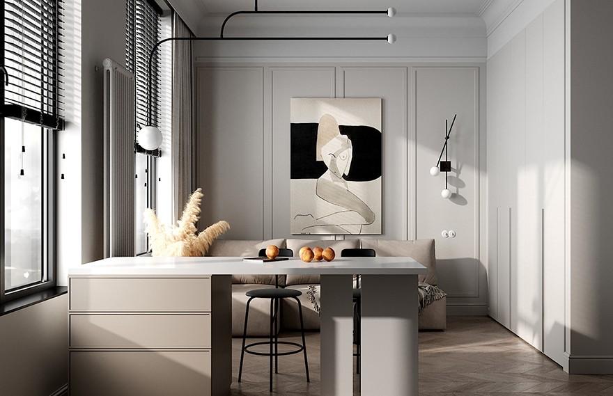 Quadro Room   Symbol Residence , 现代经典明亮的空间