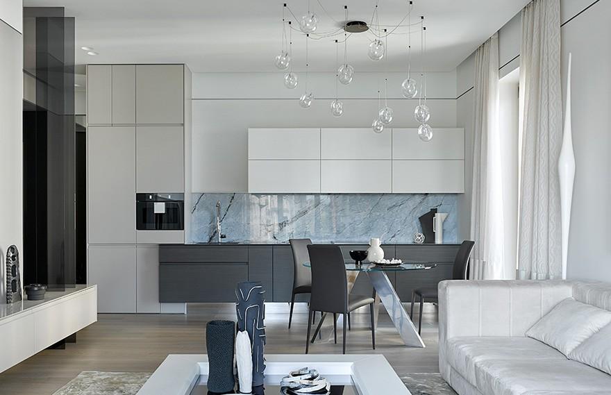 Natalia Belugina | Sadiki Apartment , 当代艺术的住宅公寓