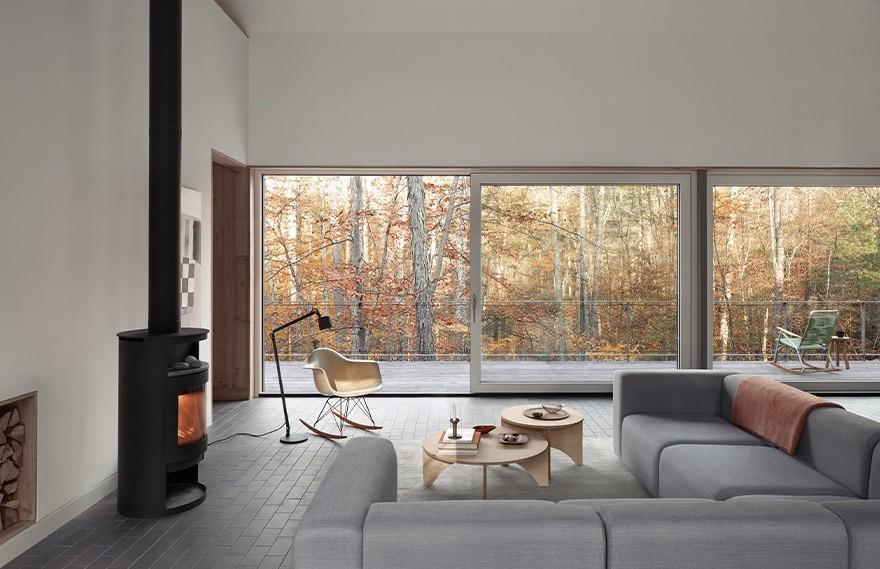 IDSR Architecture | Mount Tobias House , 大自然中的极简主义住宅