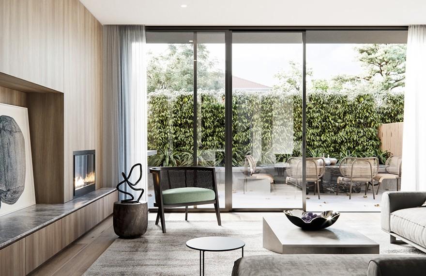 Cera Stribley | Tate Villa , 经典细节和柔软设计