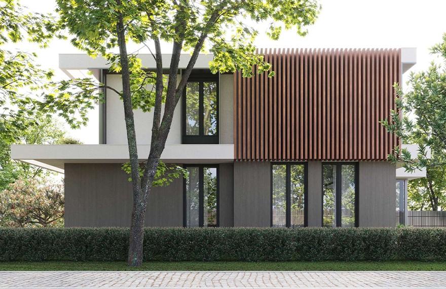 Artem Babayants   VS House , 极简设计的宁静
