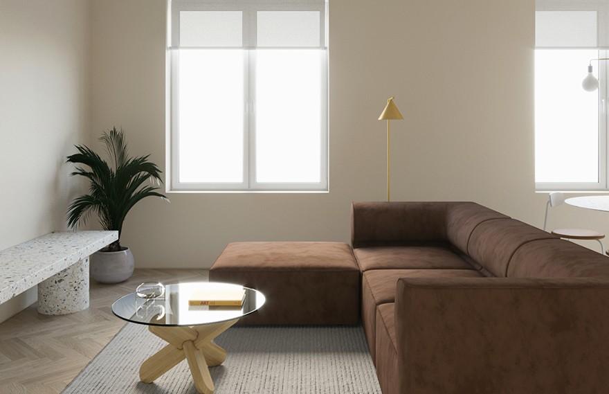Amr Moussa | Brown , 极简舒适的格调空间