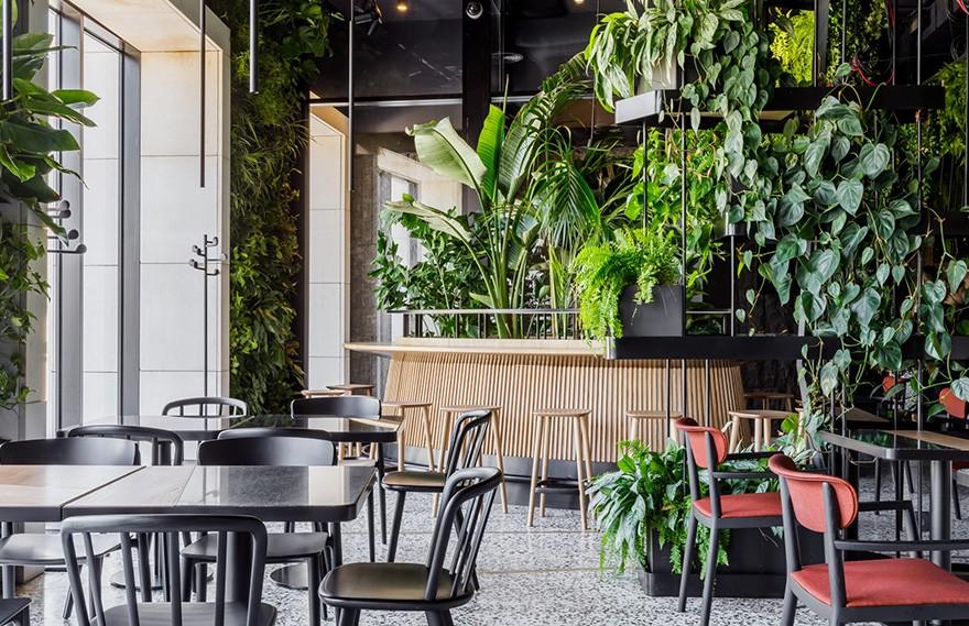 Maxim Rymar | Orangery Restaurant , 建筑与自然的情感交融